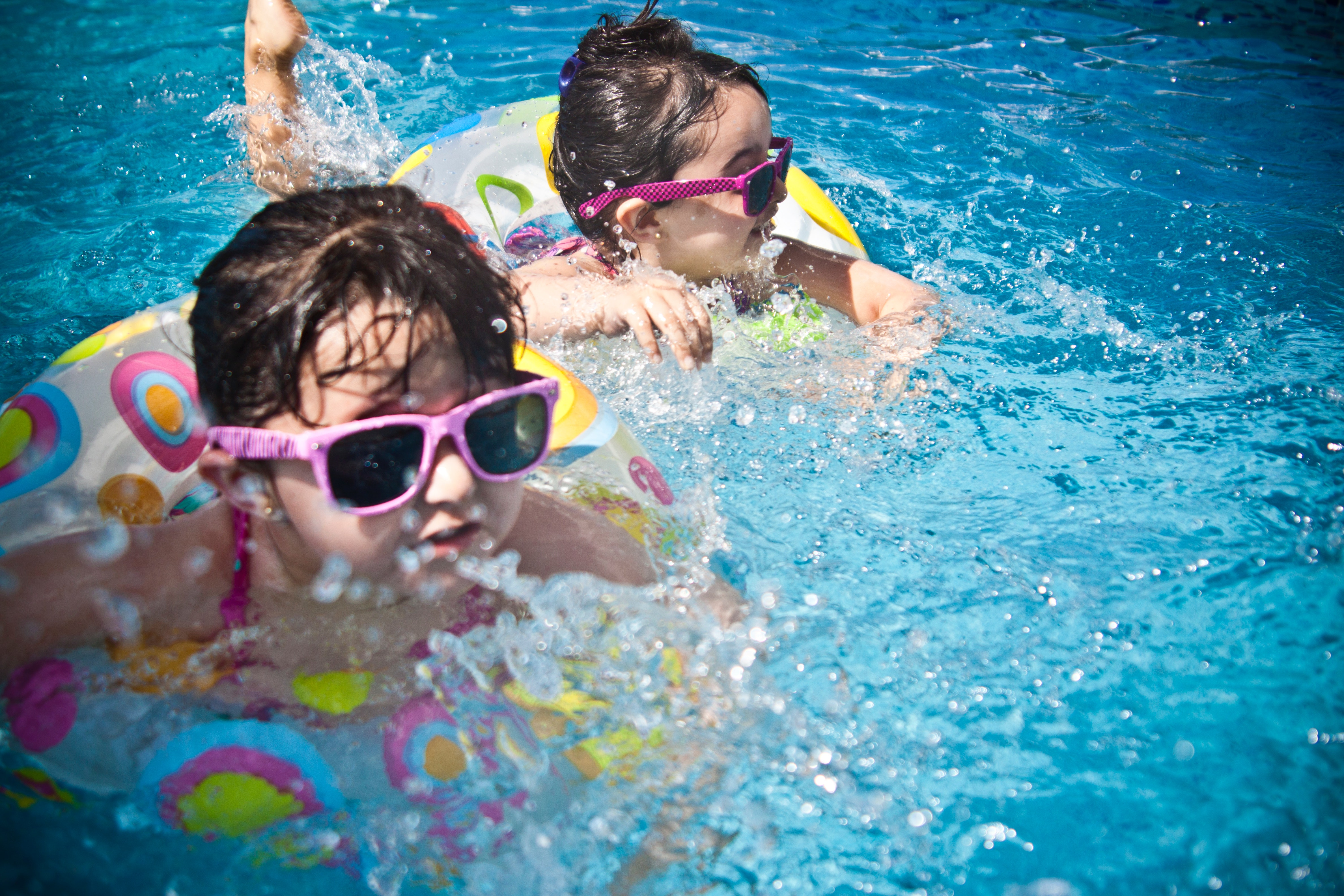 Kids in Pools