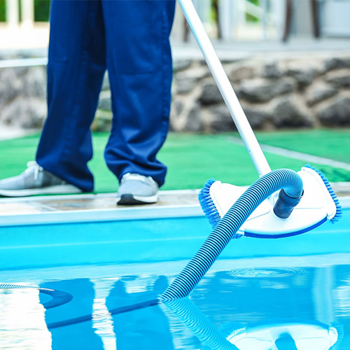 Disinfect pool water