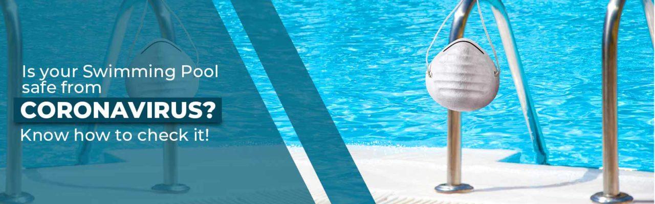 Coronavirus in swimming pools